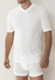 Zimmerli T-shirt med v-hals-0