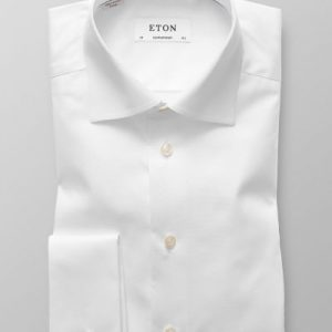 Eton Contemporary fit dobbeltmanchet-0