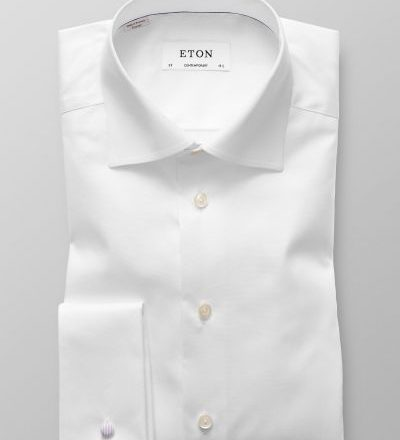 Eton Contemporary fit dobbeltmanchet-0