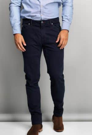 Hansen & Jacob jeans navy-0