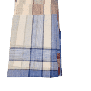 6 pak lommetørklæde tern